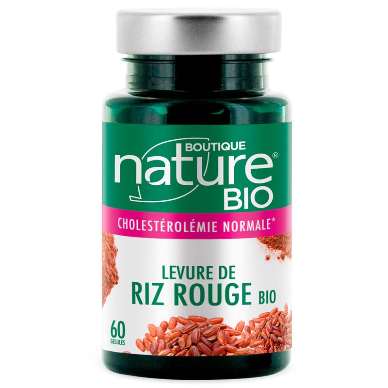 Levure de riz rouge bio Boutique Nature : mauvaises graisses