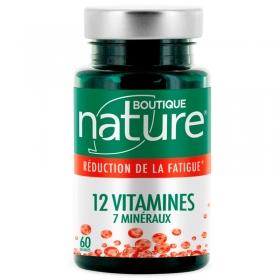 12 vitamines 7 minéraux